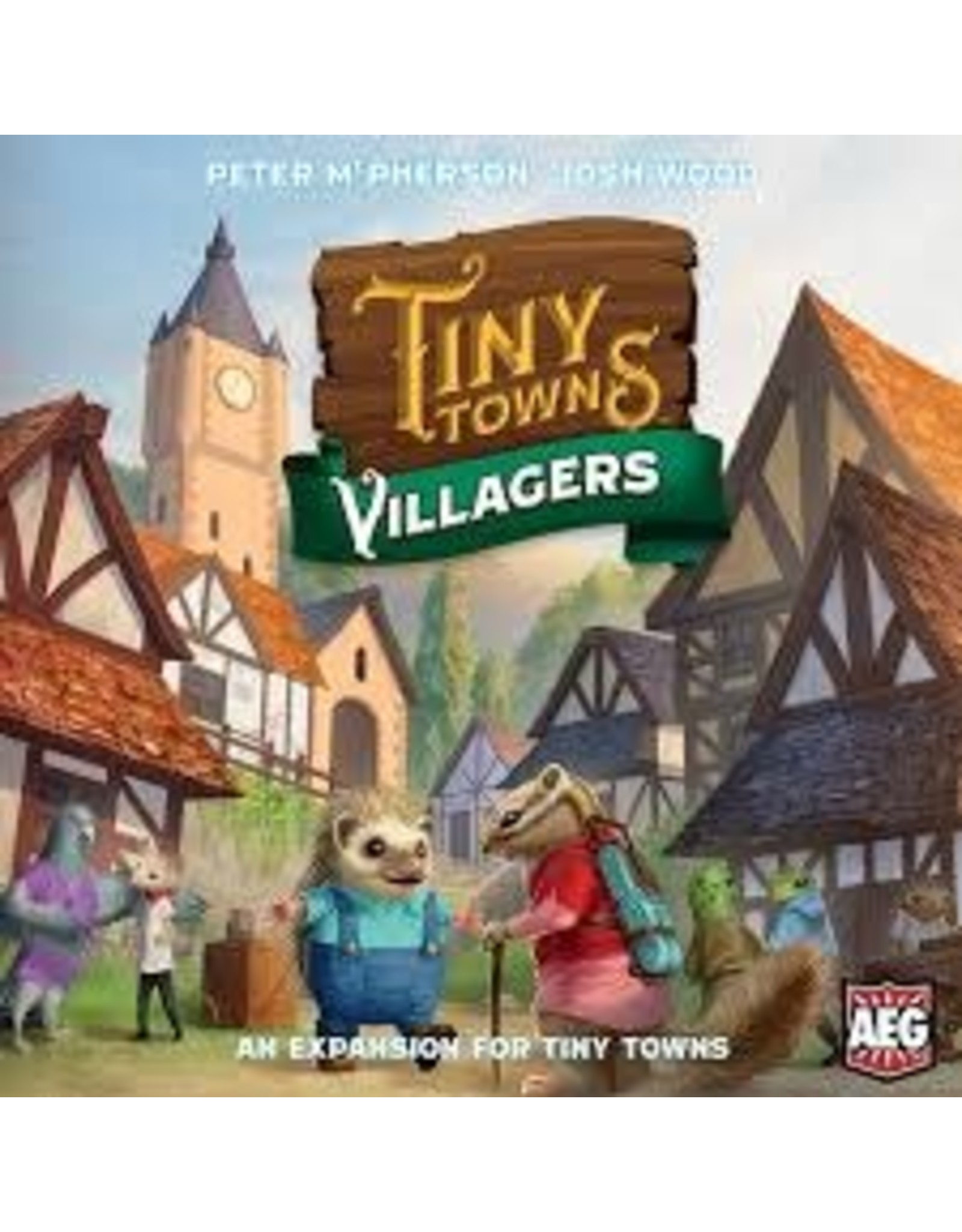 AEG Tiny Towns: Villagers Expansion