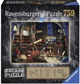 "Ravensburger ""Escape the Observatory"" 759 Piece Escape Puzzle"
