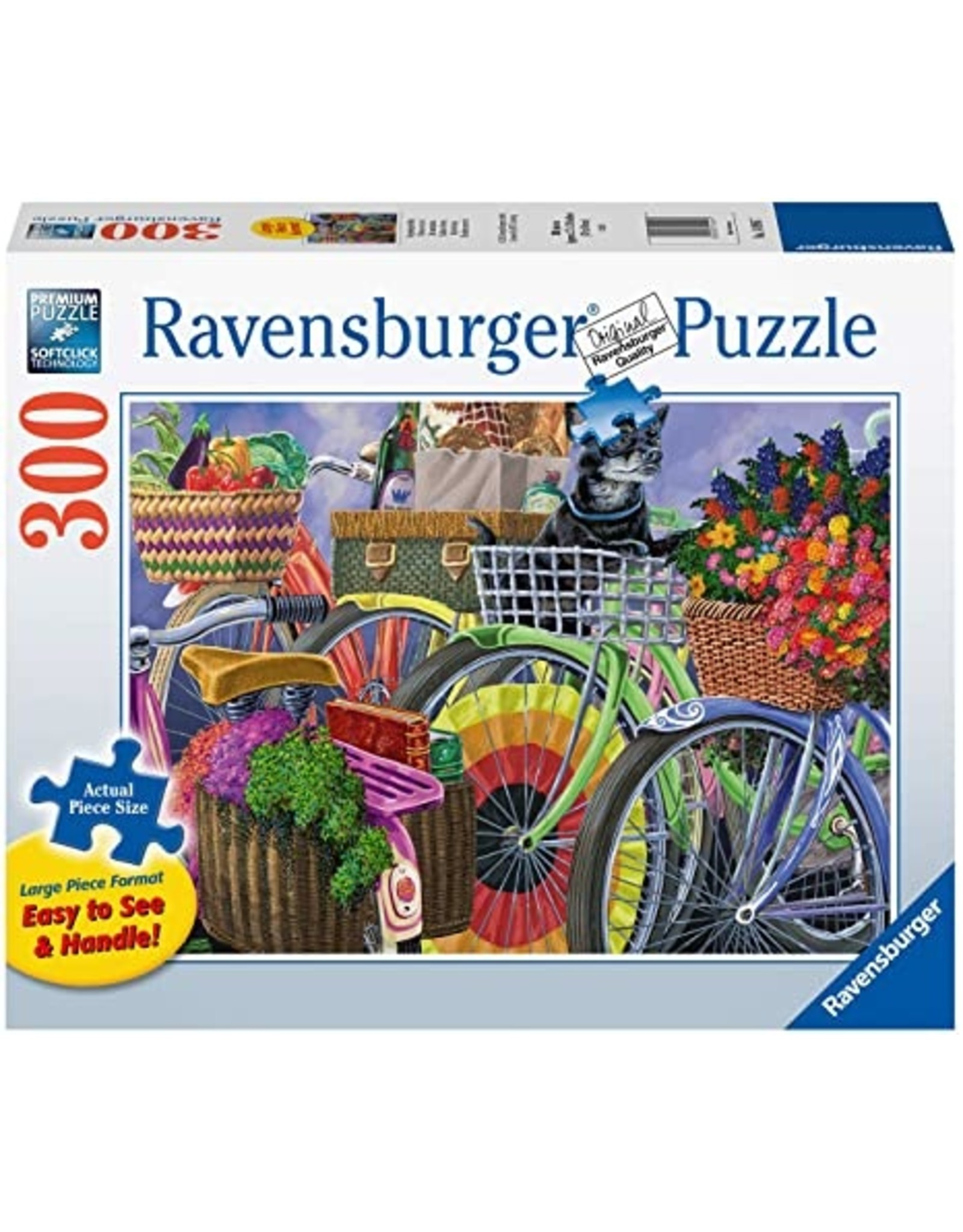 "Ravensburger ""Bicycle Group"" 300 Piece Puzzle"