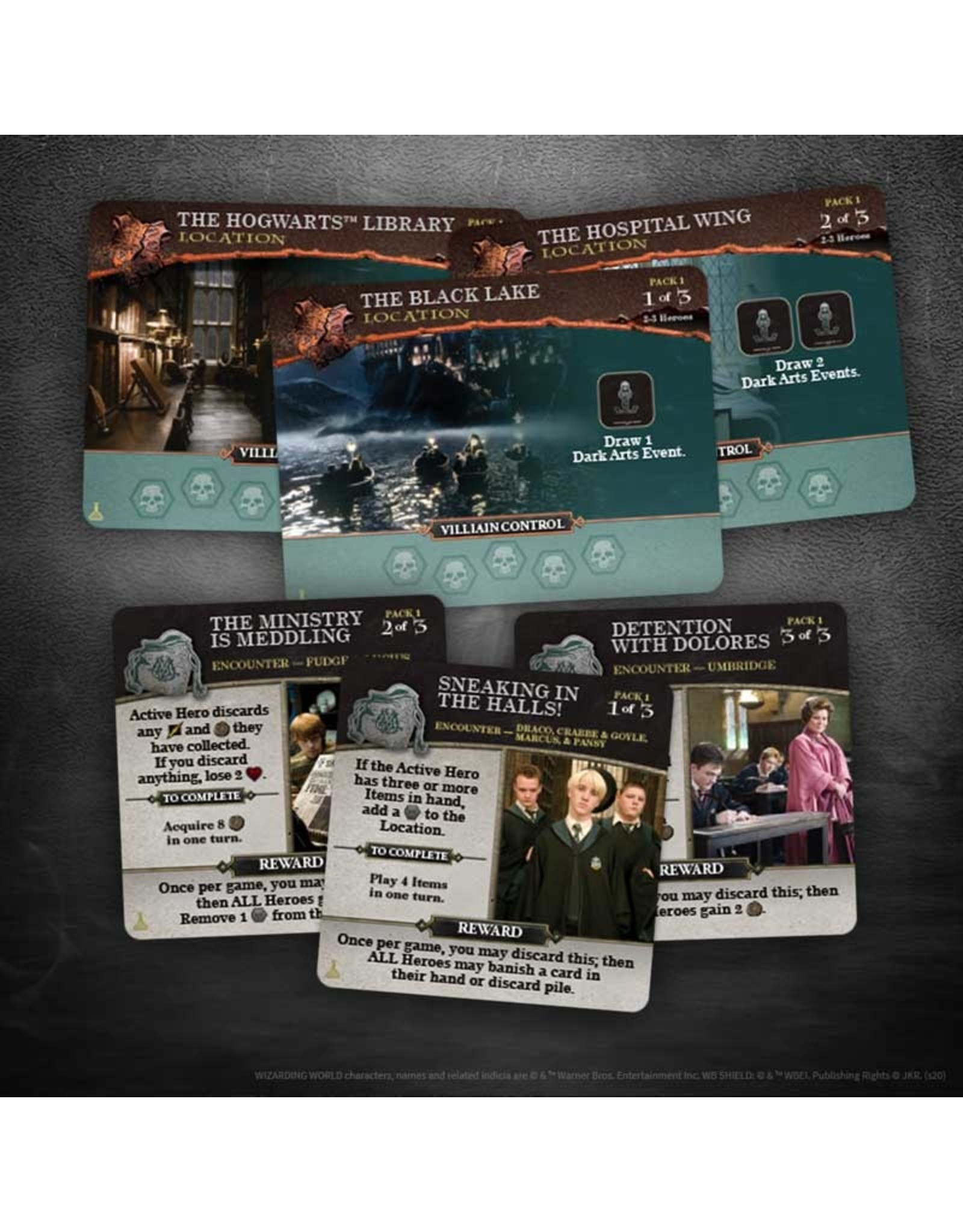 The OP Harry Potter Hogwarts Battle: Charms and Potions Expansion