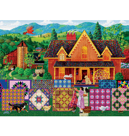"SunsOut ""Morning Day Quilt"" 1000 Piece Puzzle"