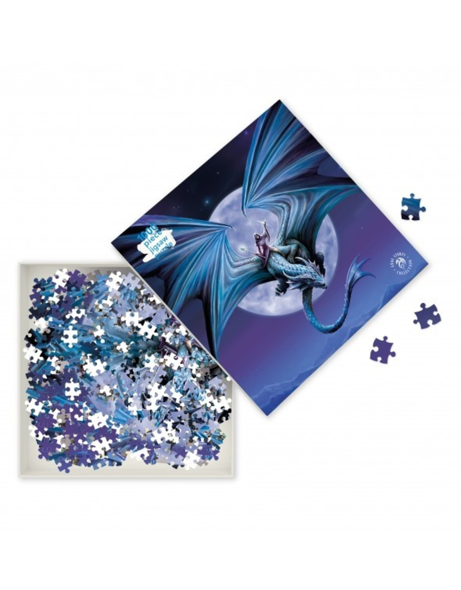 "Flame Tree Publishing ""Moonstone"" 1000 Piece Puzzle"