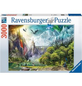 "Ravensburger ""Reign of Dragons"" 3000 piece puzzle"