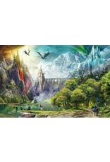 "Ravensburger ""Reign of Dragons"" 3000 piece puzzle"
