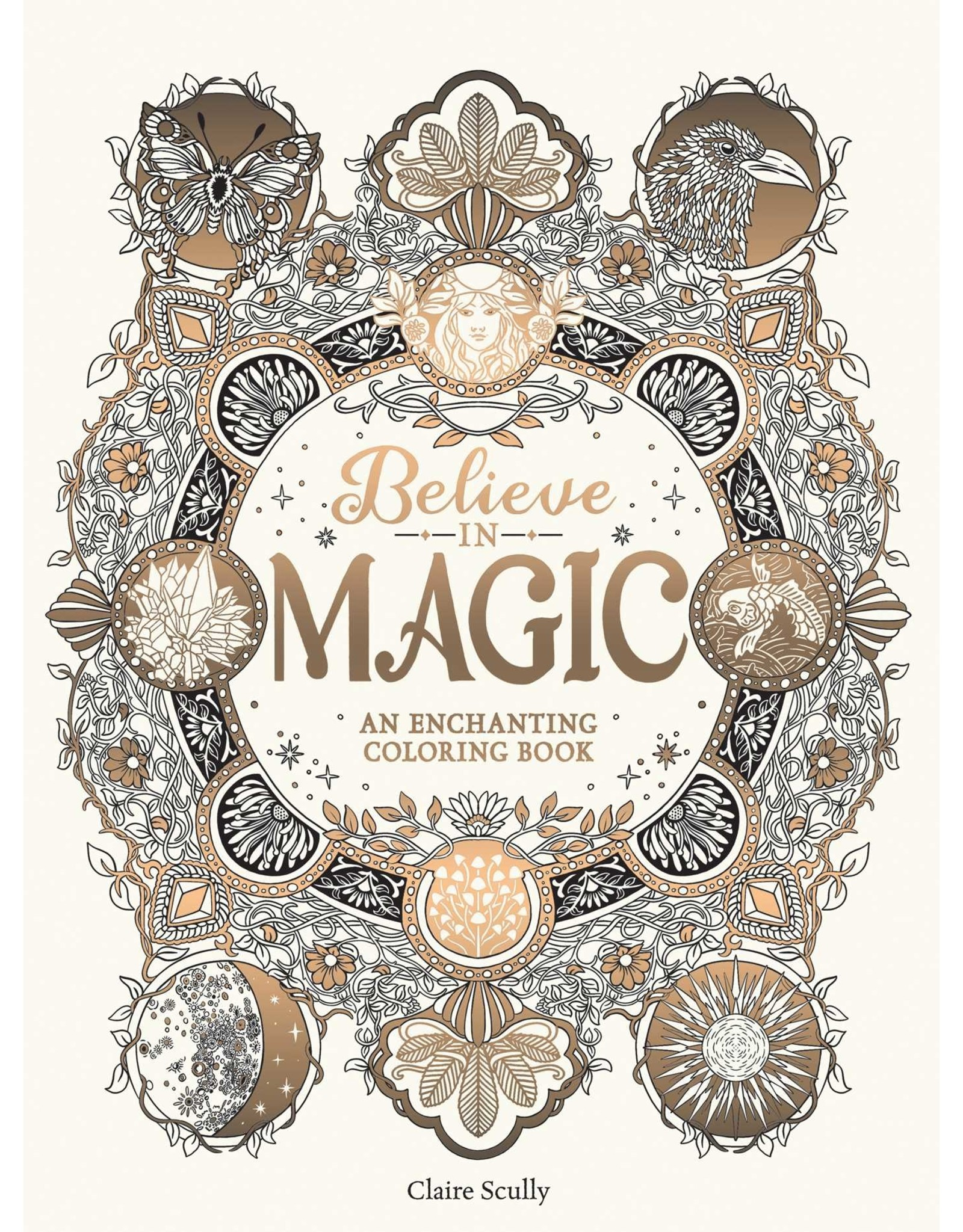 Simon & Schuster Believe in Magic: An Enchanting Coloring Book
