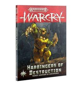 Games Workshop Warcry: Harbingers of Destruction