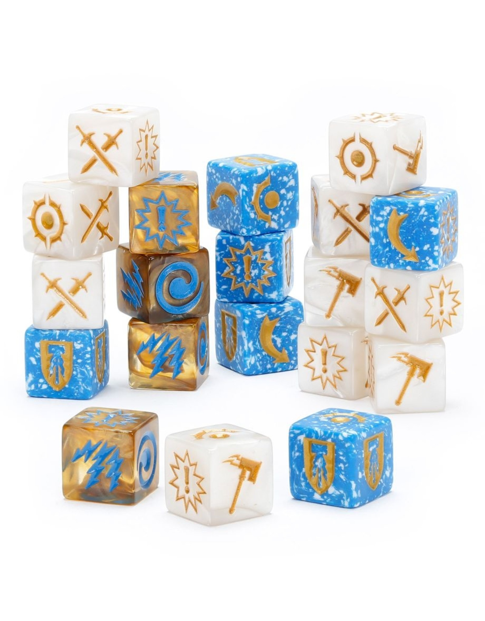 Games Workshop WH Underworlds: Grand Alliance Order Dice Pack