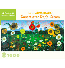 "Pomegranate ""Sunset over Dog's Dream"" 1000 Piece Puzzle"