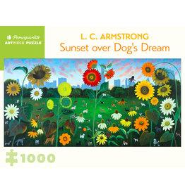 "Pomegranate ""Sunset over Dog's Dream"" 1000 Piece Puzzle"