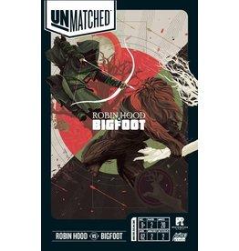 Restoration Games Unmatched: Robin Hood vs. Bigfoot