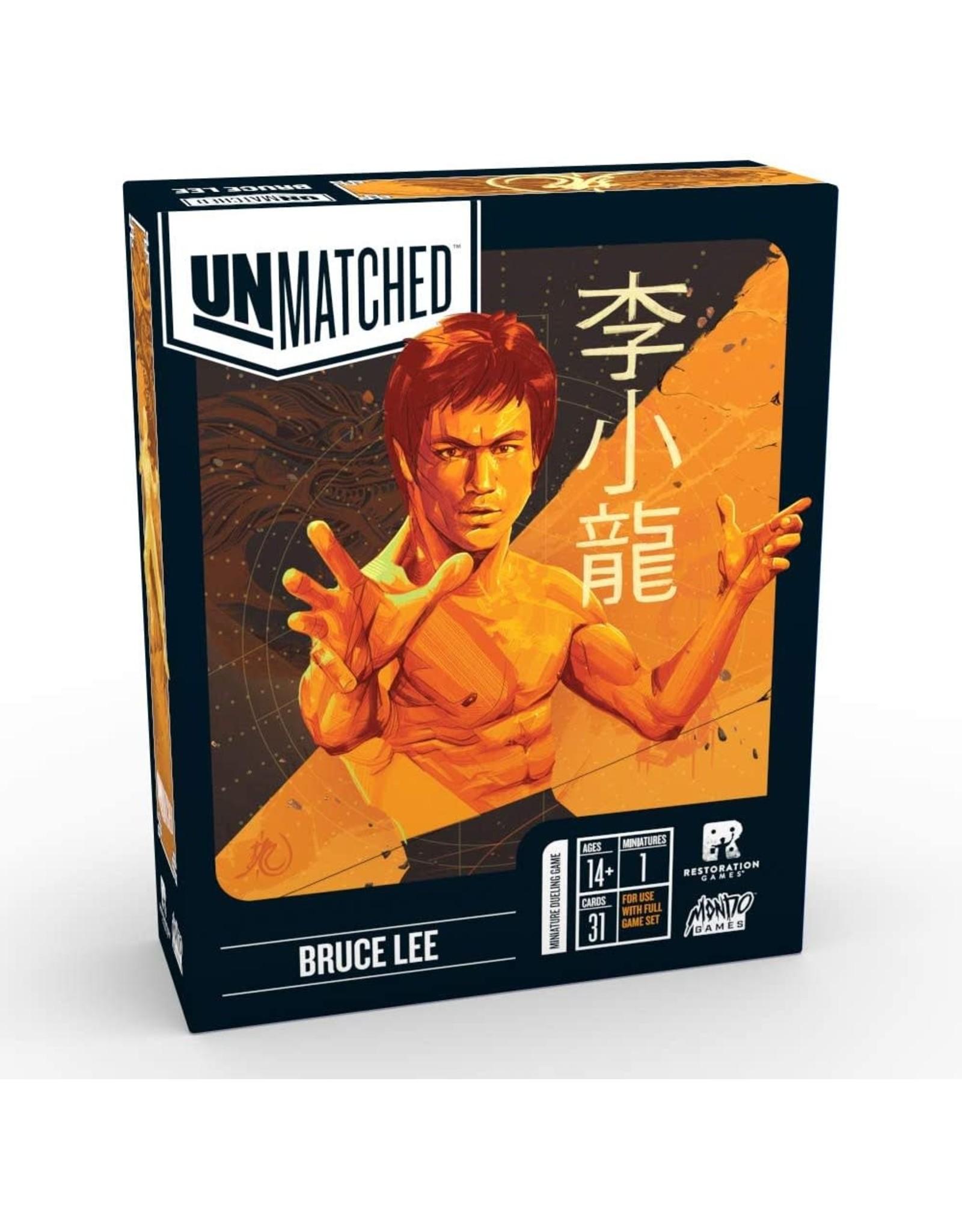 Restoration Games Unmatched: Bruce Lee
