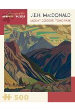 "Pomegranate ""Mount Goodsir, Yoho Park"" 500 Piece Puzzle"
