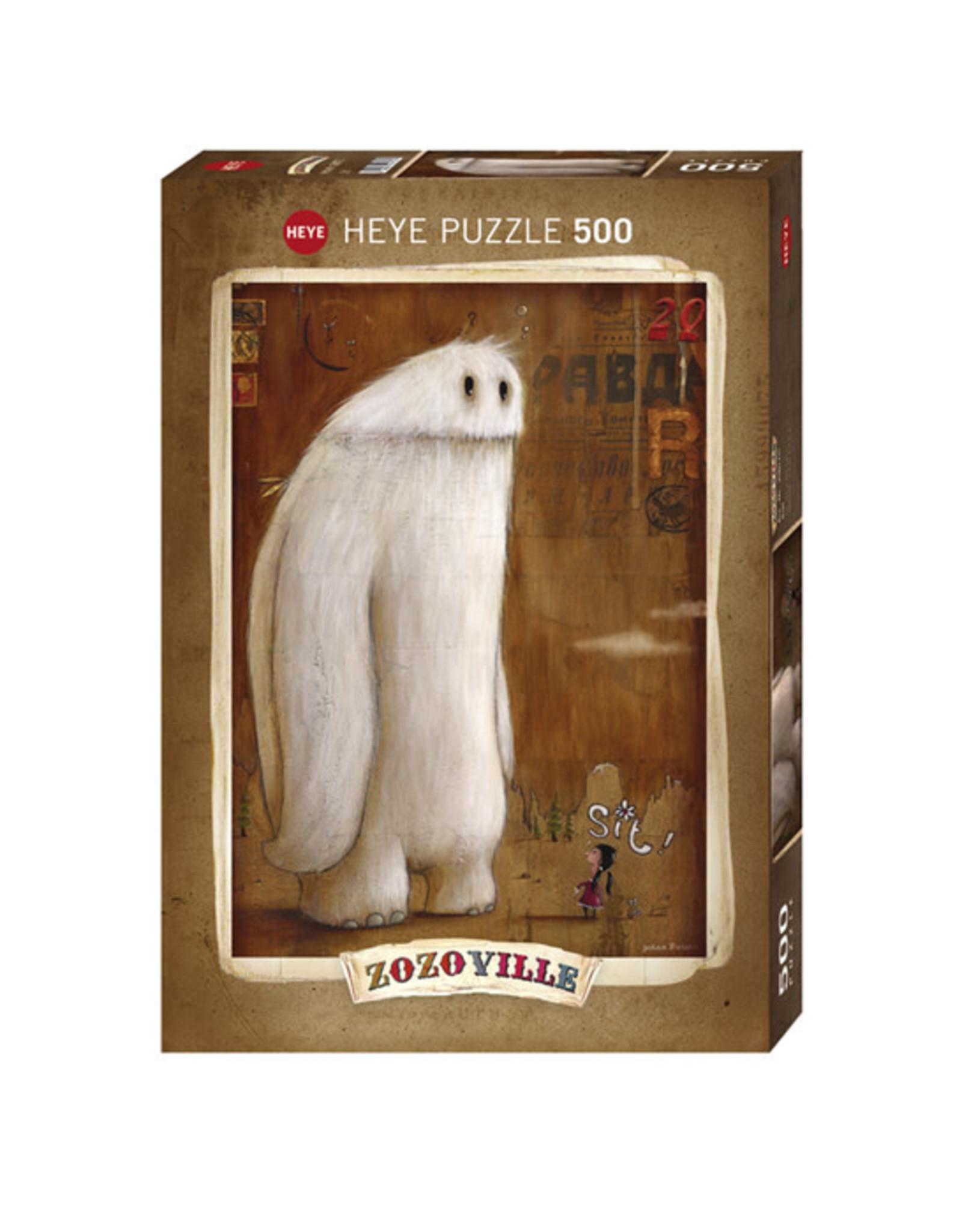 """Heye """"Sit!"""" 500 Piece Puzzle"""