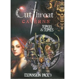 Smirk & Dagger Cutthroat Caverns: Tombs & Tomes Expansion