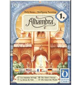 Rio Grande Games Alhambra: The Vizier's Favor Expansion
