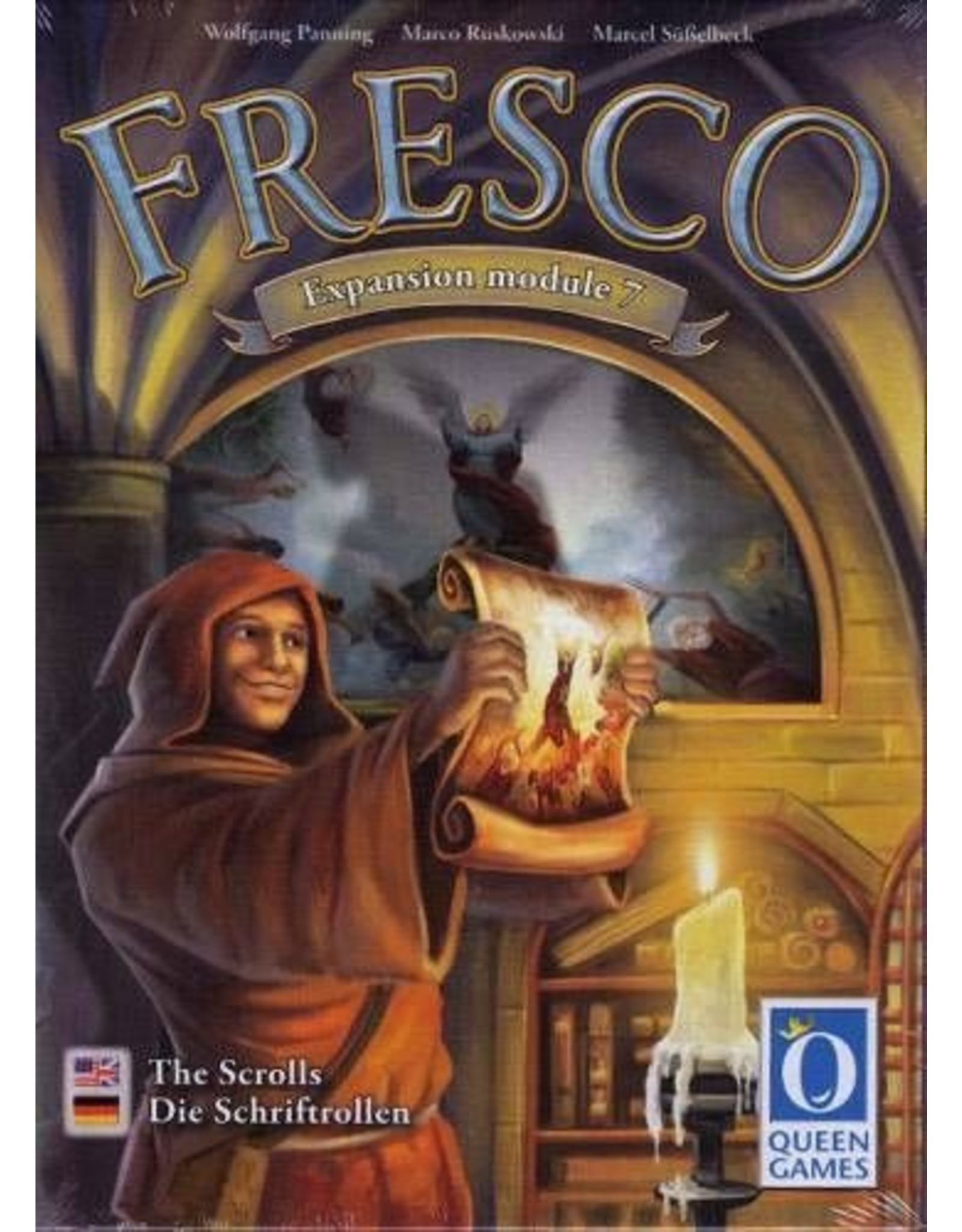 Queen Games Fresco: The Scrolls Expansion
