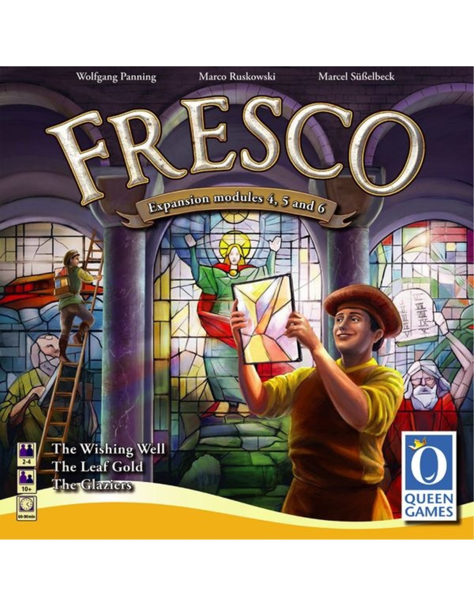 Queen Games Fresco: The Glaziers Expansion