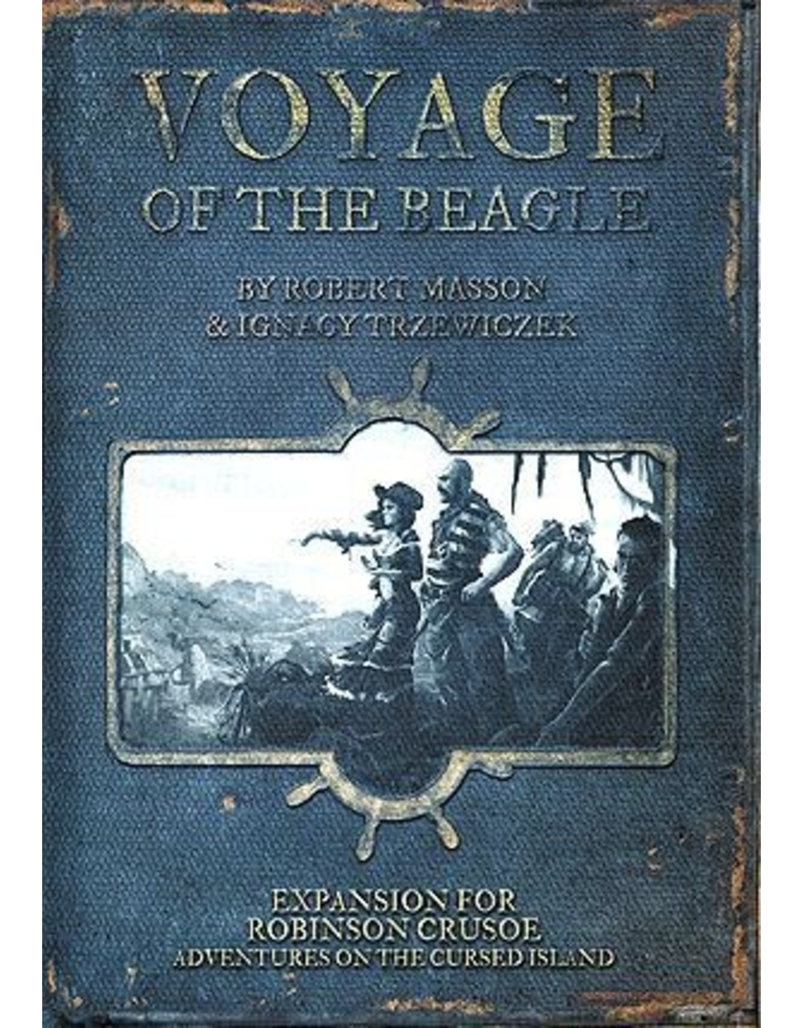 Z-Man Games Robinson Crusoe: Voyage of the Beagle Expansion