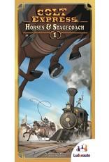Ludonaute Colt Express: Horses & Stagecoach Expansion