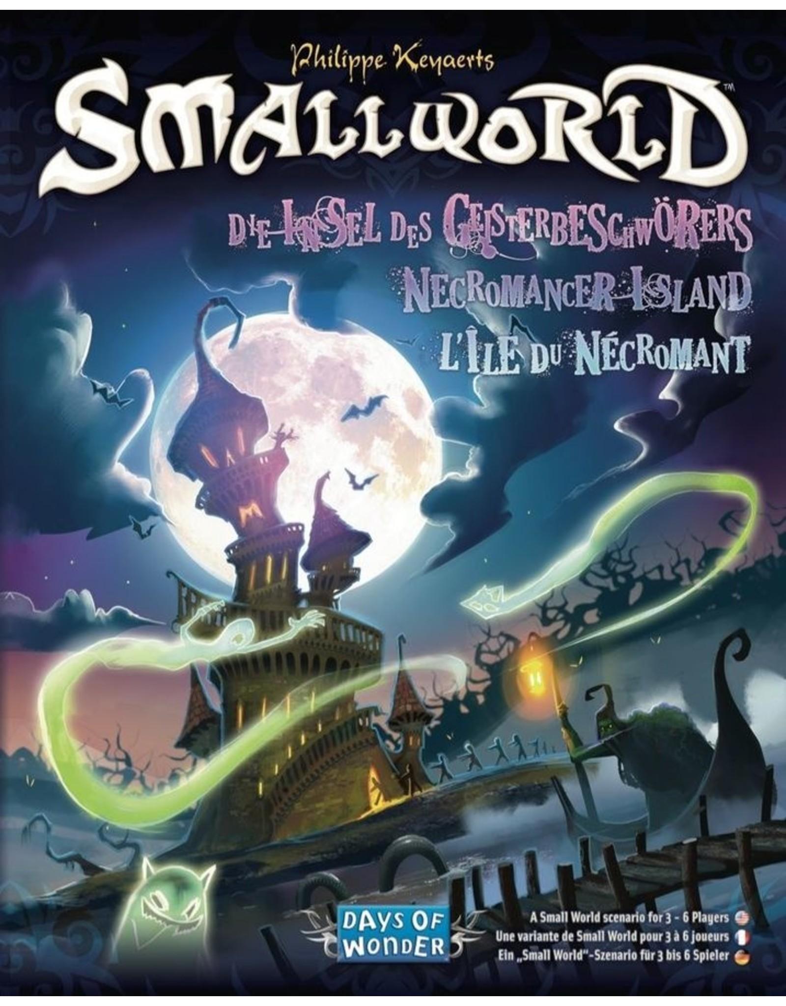 Days of Wonder Small World: Necromancer Island Expansion