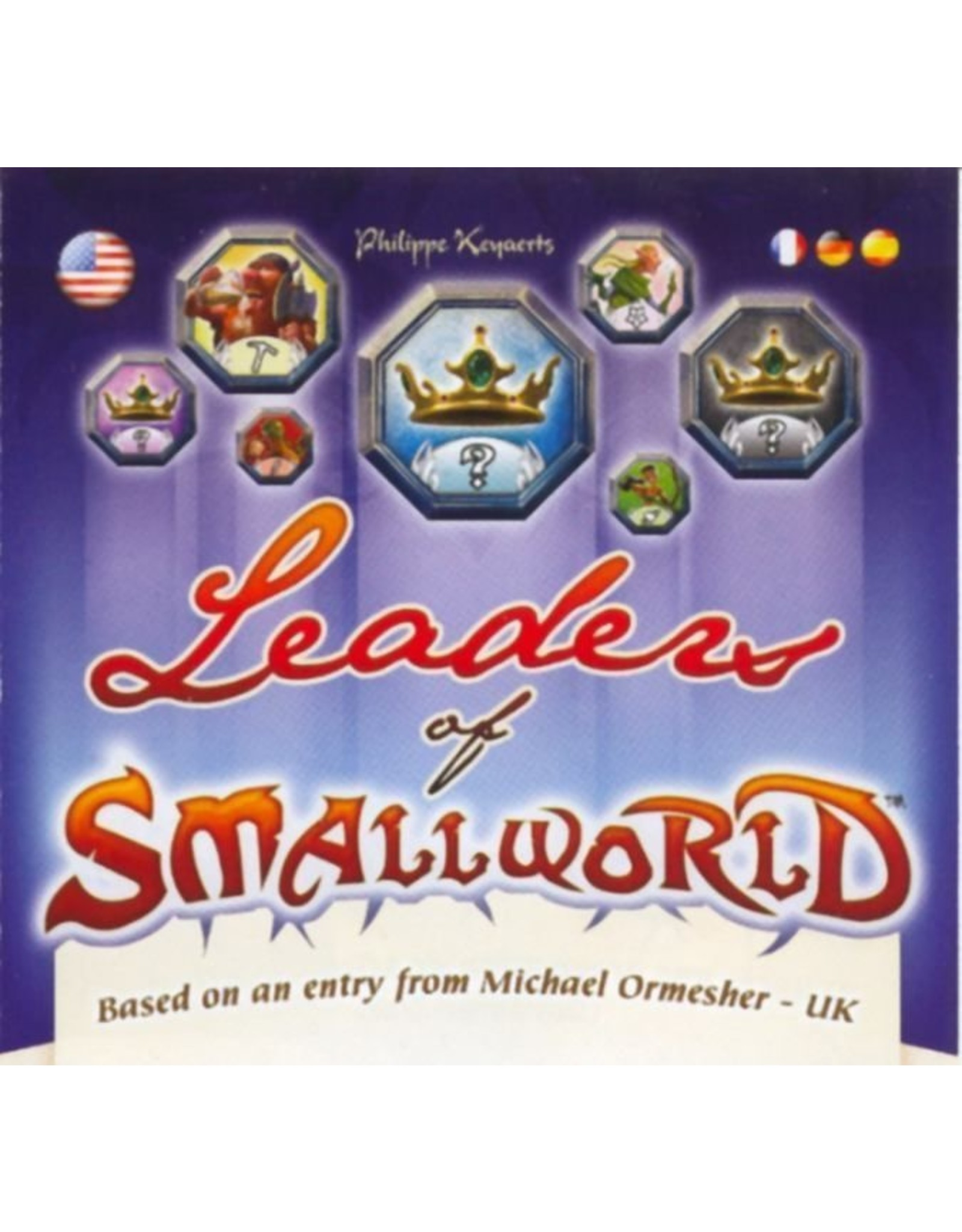 Days of Wonder Small World: Leaders of Small World Expansion