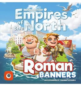Portal Games Imperial Settlers: Empires of the North - Roman Banners Expansion
