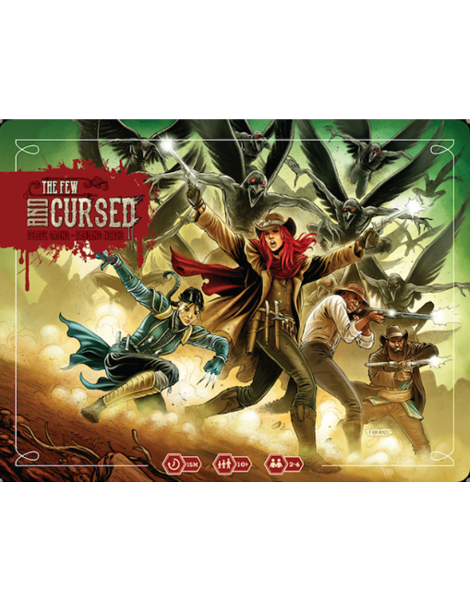 Rock Manor Games The Few and Cursed