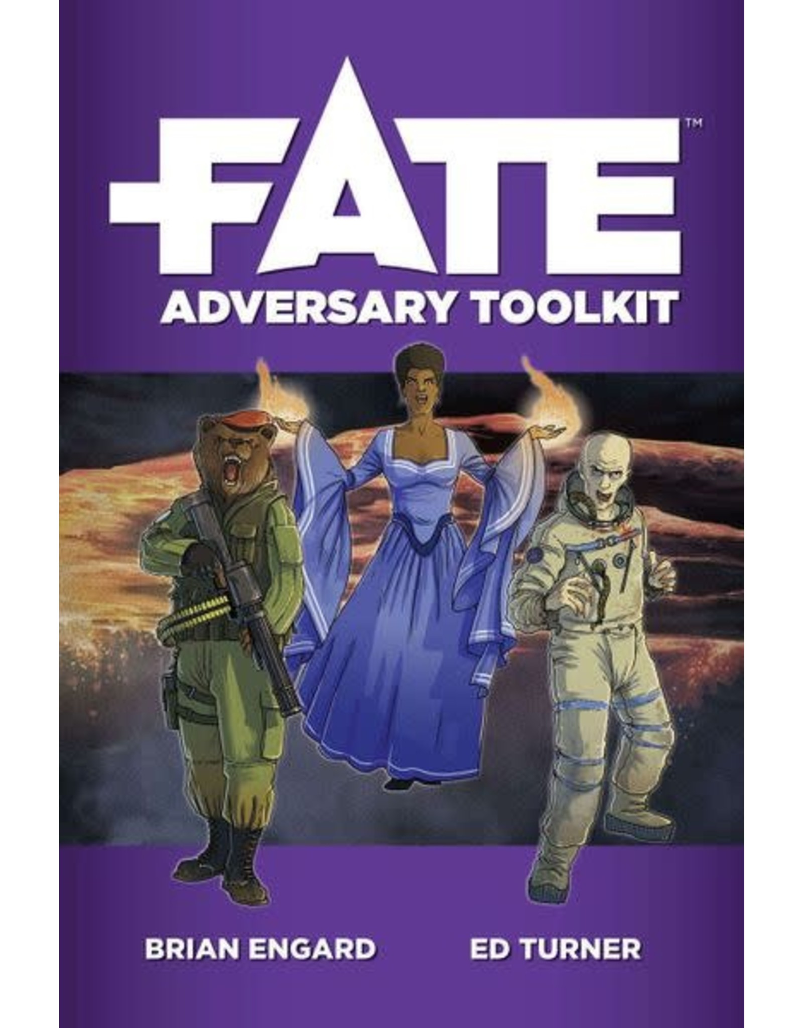 Evil Hat Productions Fate: Adversary Toolkit