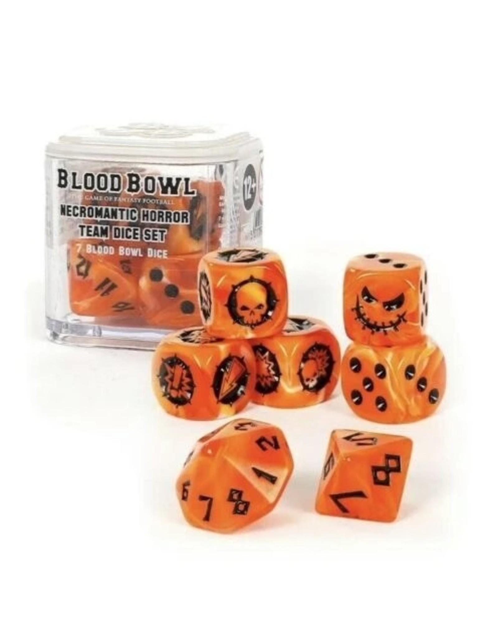 Games Workshop Blood Bowl: Necromantic Horror Team Dice Set