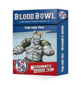 Games Workshop Blood Bowl: Necromantic Horror Team Card Pack