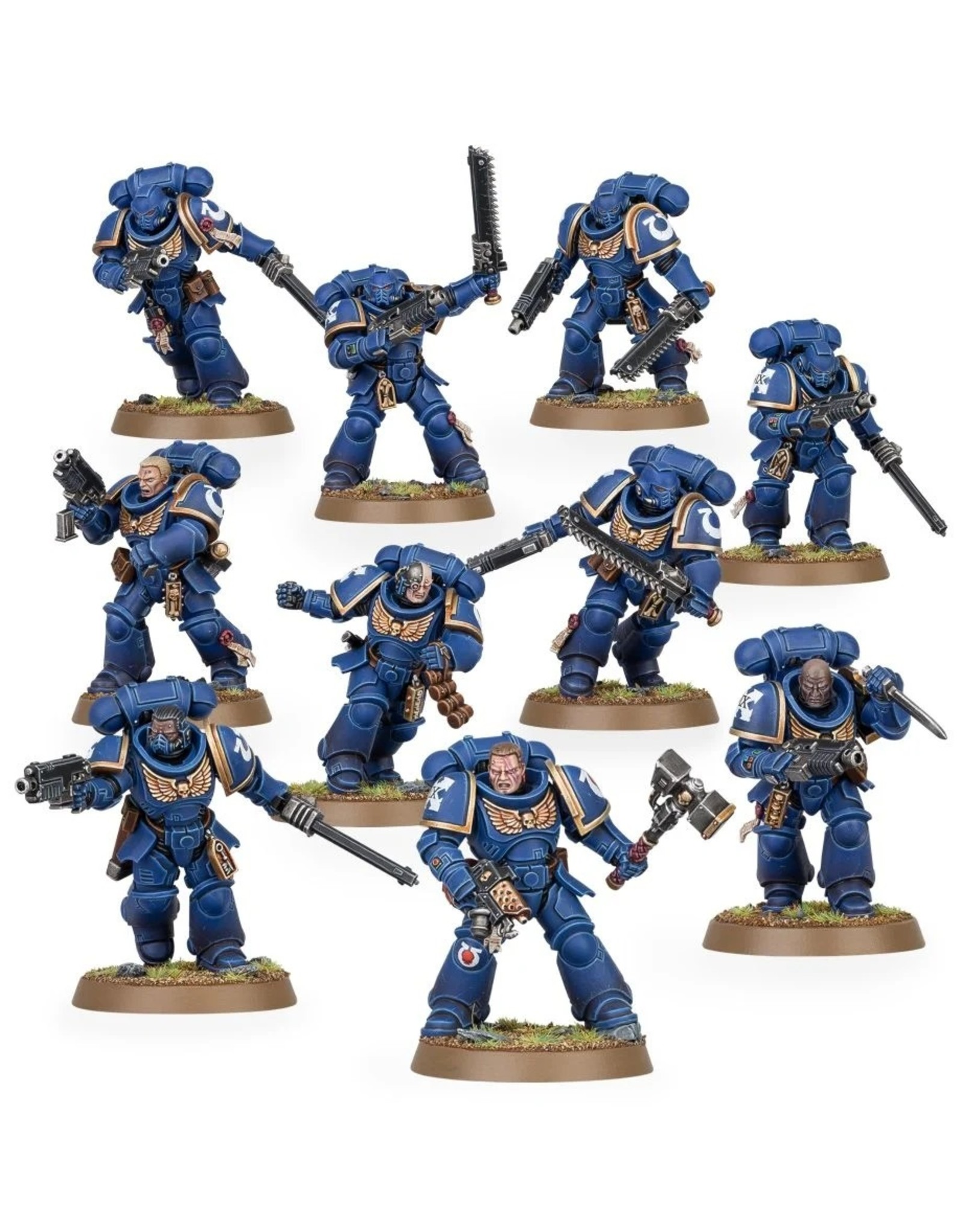 Games Workshop Space Marines: Assault Intercessors