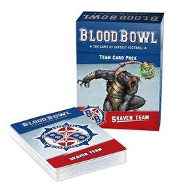 Games Workshop Blood Bowl: Skaven Team Card Pack