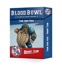 Games Workshop Blood Bowl: Dwarf Team Card Pack