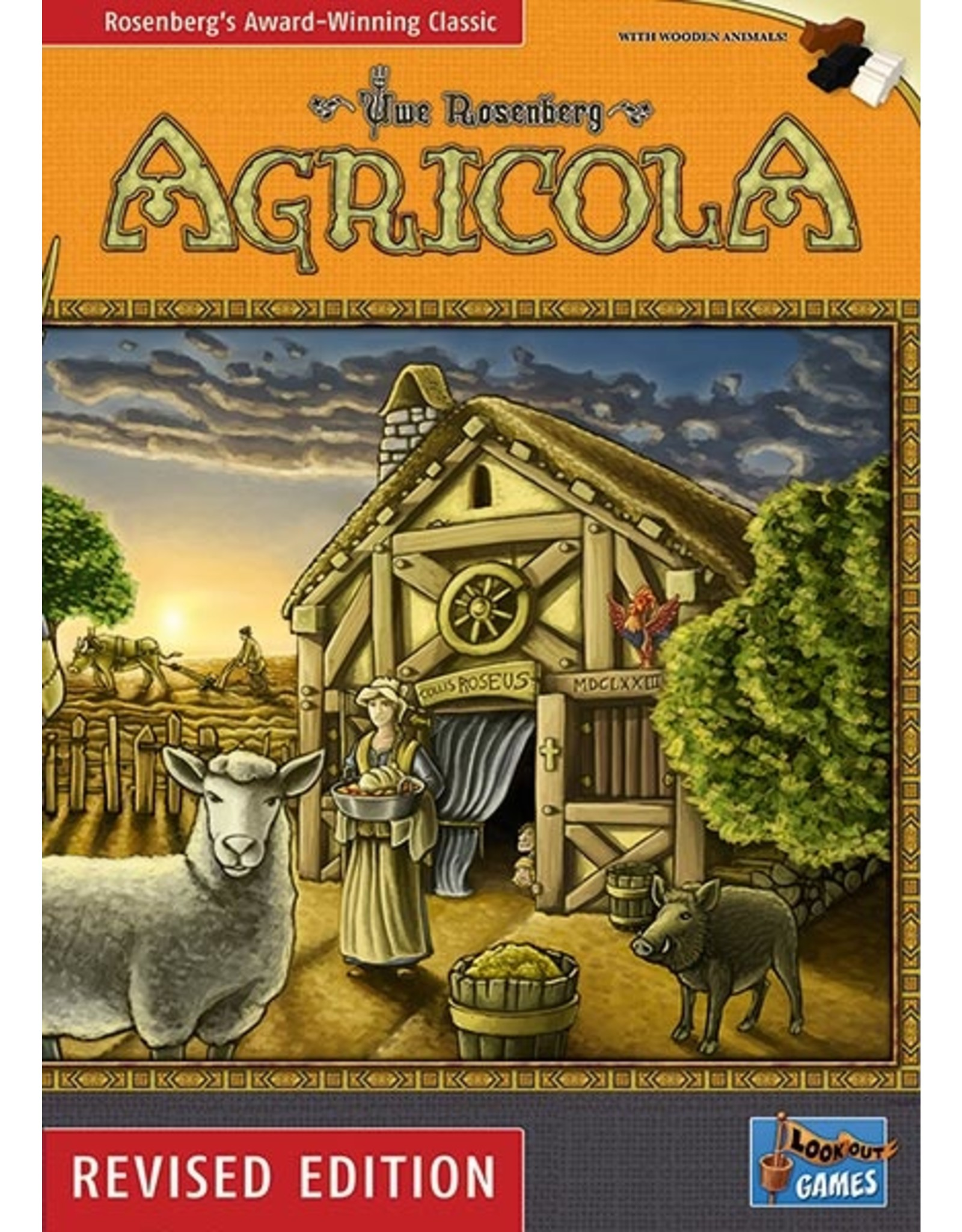 Lookout Games Agricola: Revised Edition
