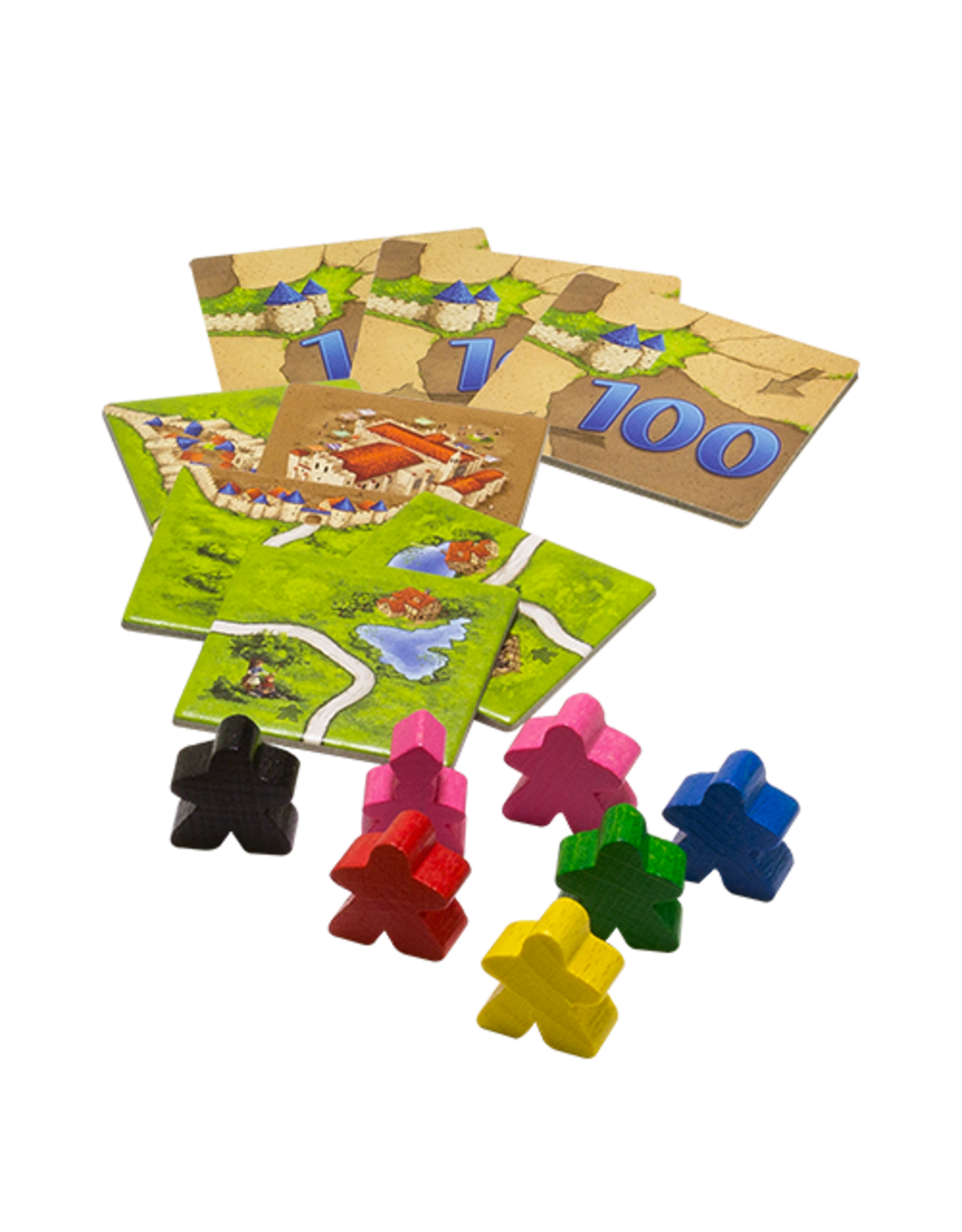 Z-Man Games Carcassonne: Inns & Cathedrals Expansion