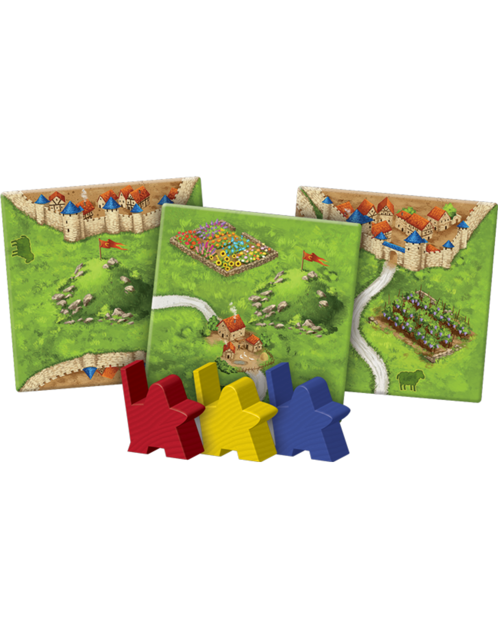 Z-Man Games Carcassonne: Hills & Sheep Expansion
