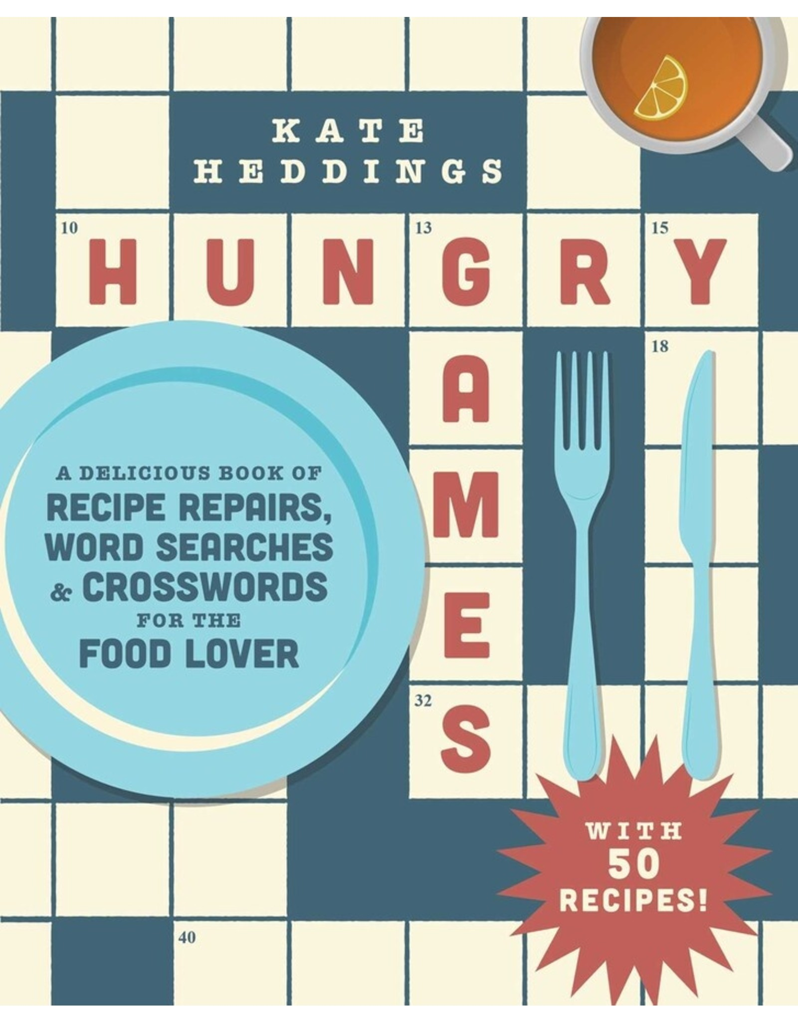 Simon & Schuster Hungry Games Puzzle Book