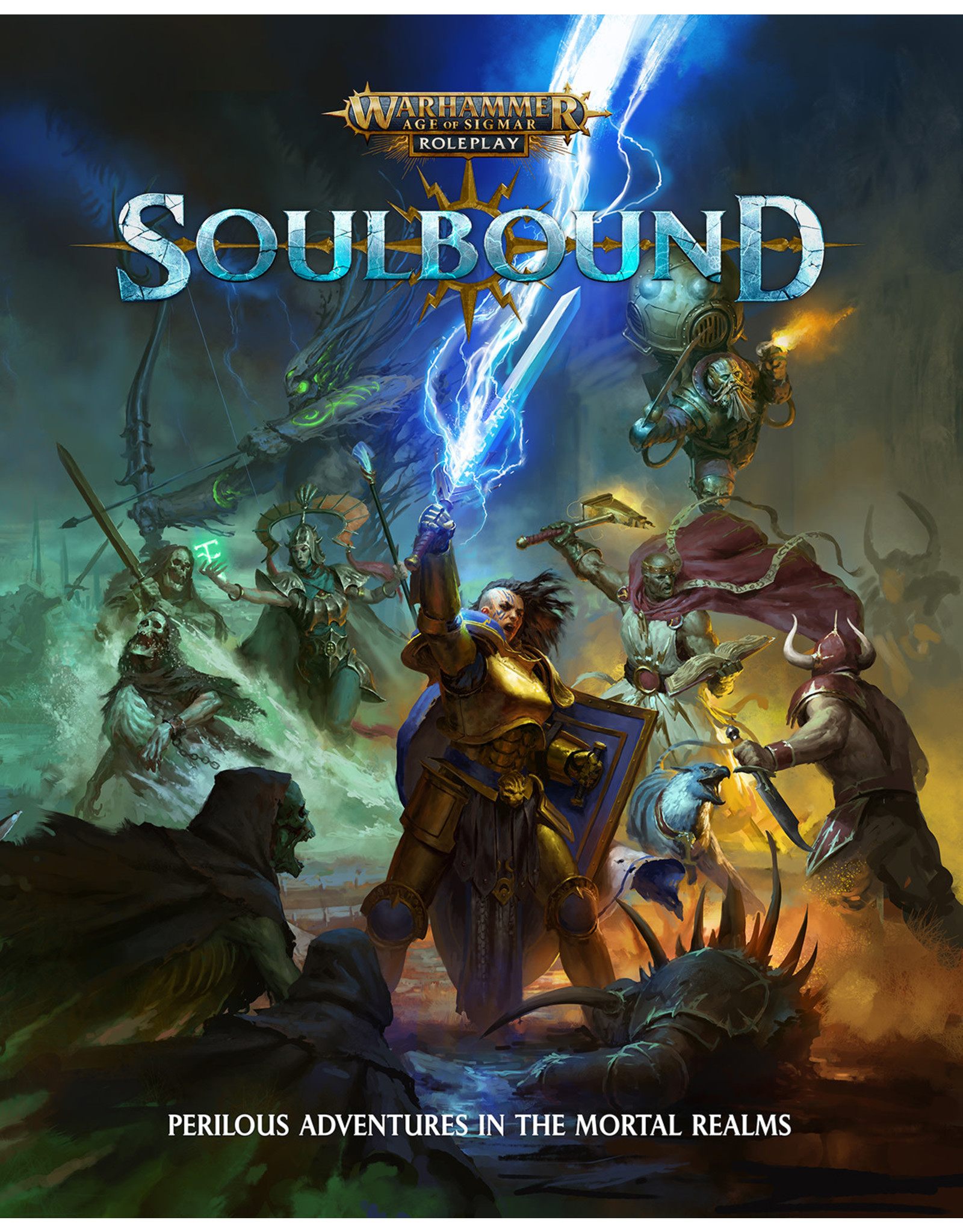 Cubicle 7 Soulbound: Core Rulebook