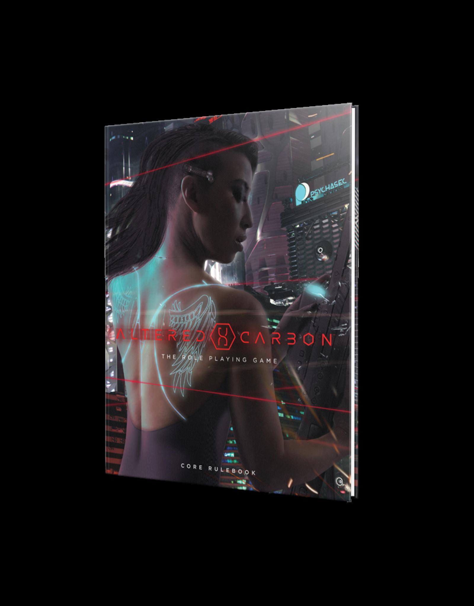 Renegade Game Studios Altered Carbon: Core Rulebook