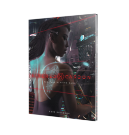 Renegade Game Studios Altered Carbon: Core Rulebook
