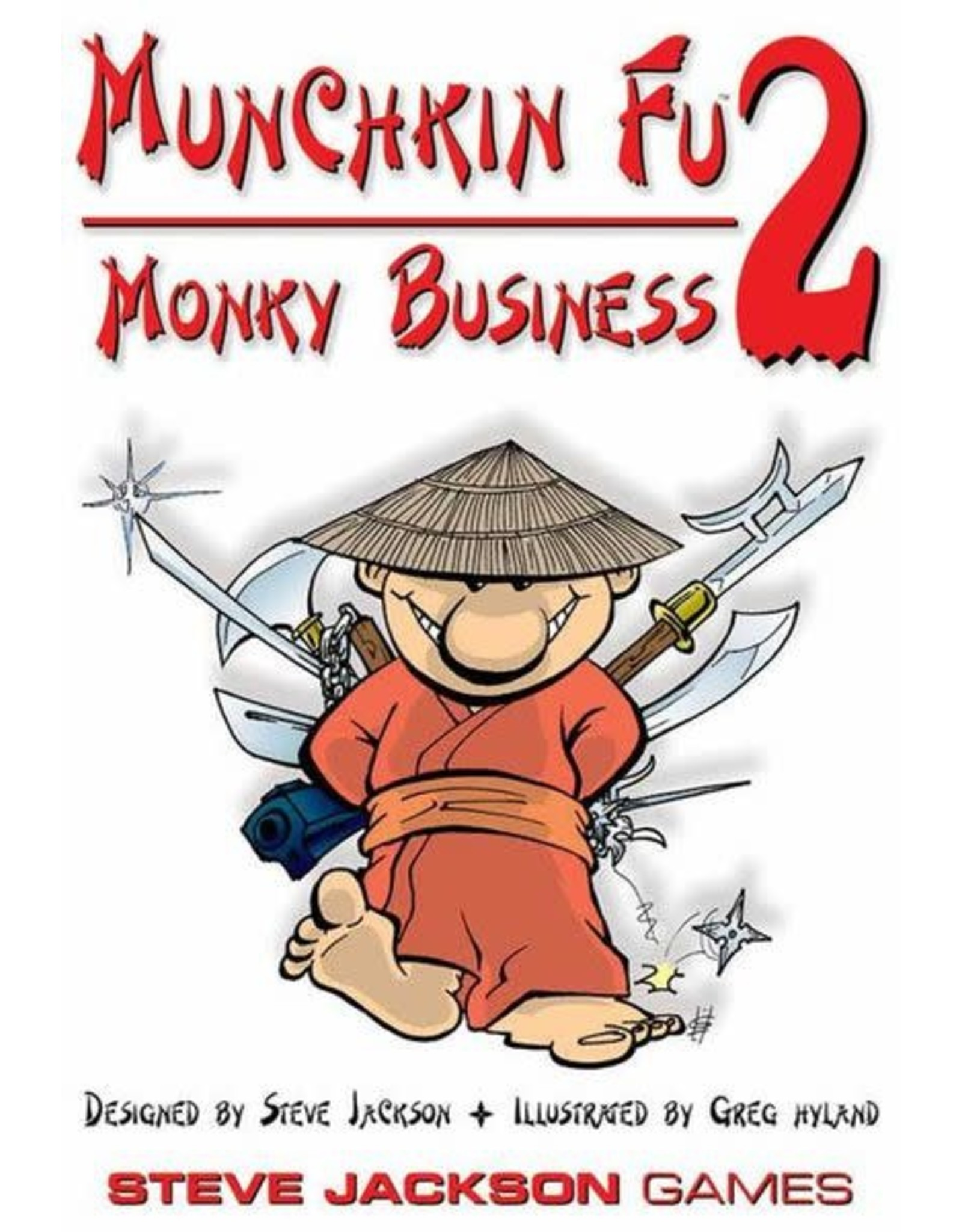 Steve Jackson Games Munchkin-Fu: Monkey Business Expansion