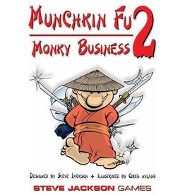 Steve Jackson Games Munchkin-Fu: Monkey Business Expansion