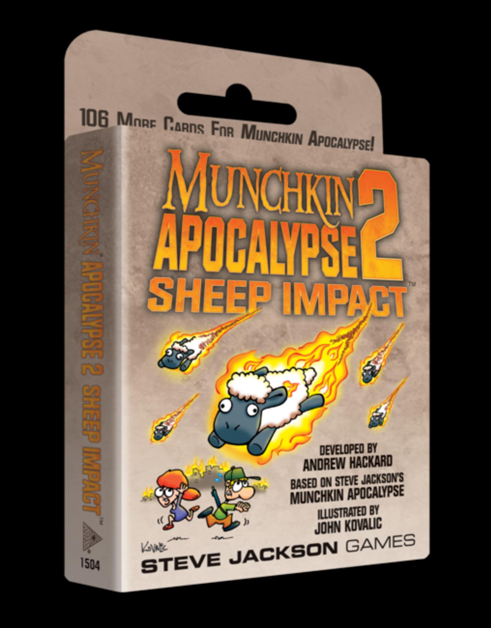 Steve Jackson Games Munchkin Apocalypse: Sheep Impact Expansion