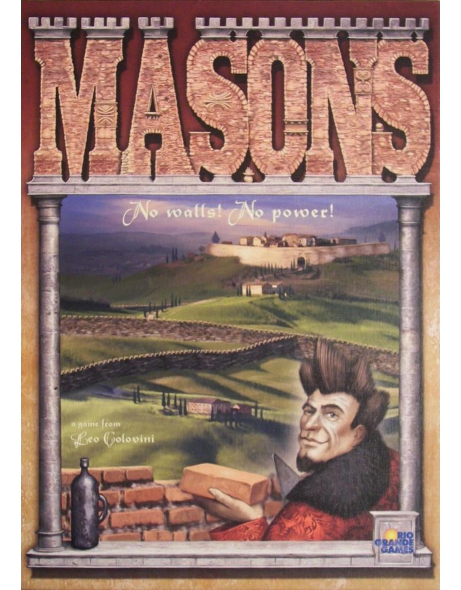 Rio Grande Games Masons