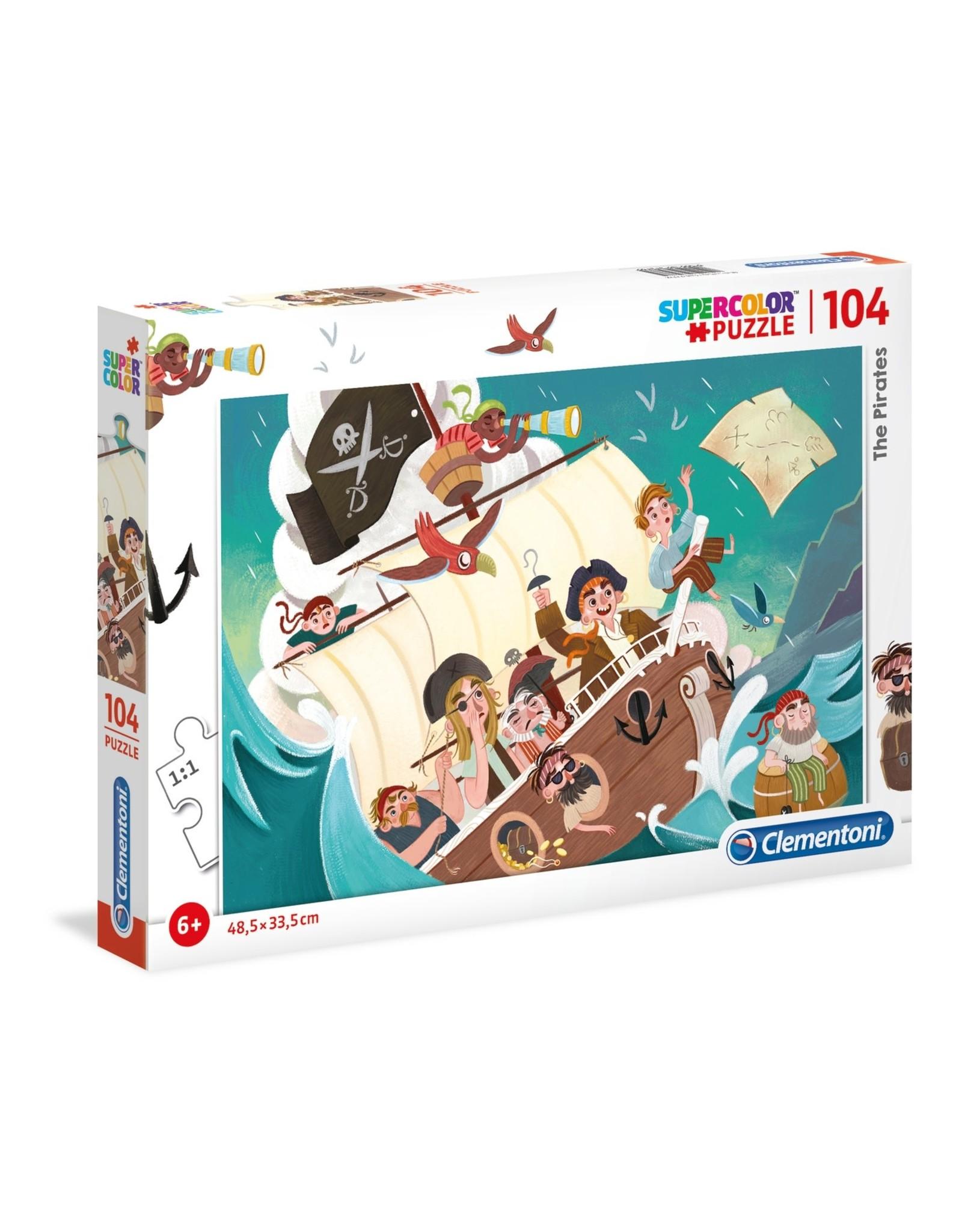 """Clementoni """"The Pirates"""" 104 Piece Puzzle"""