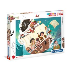 "Clementoni ""The Pirates"" 104 Piece Puzzle"
