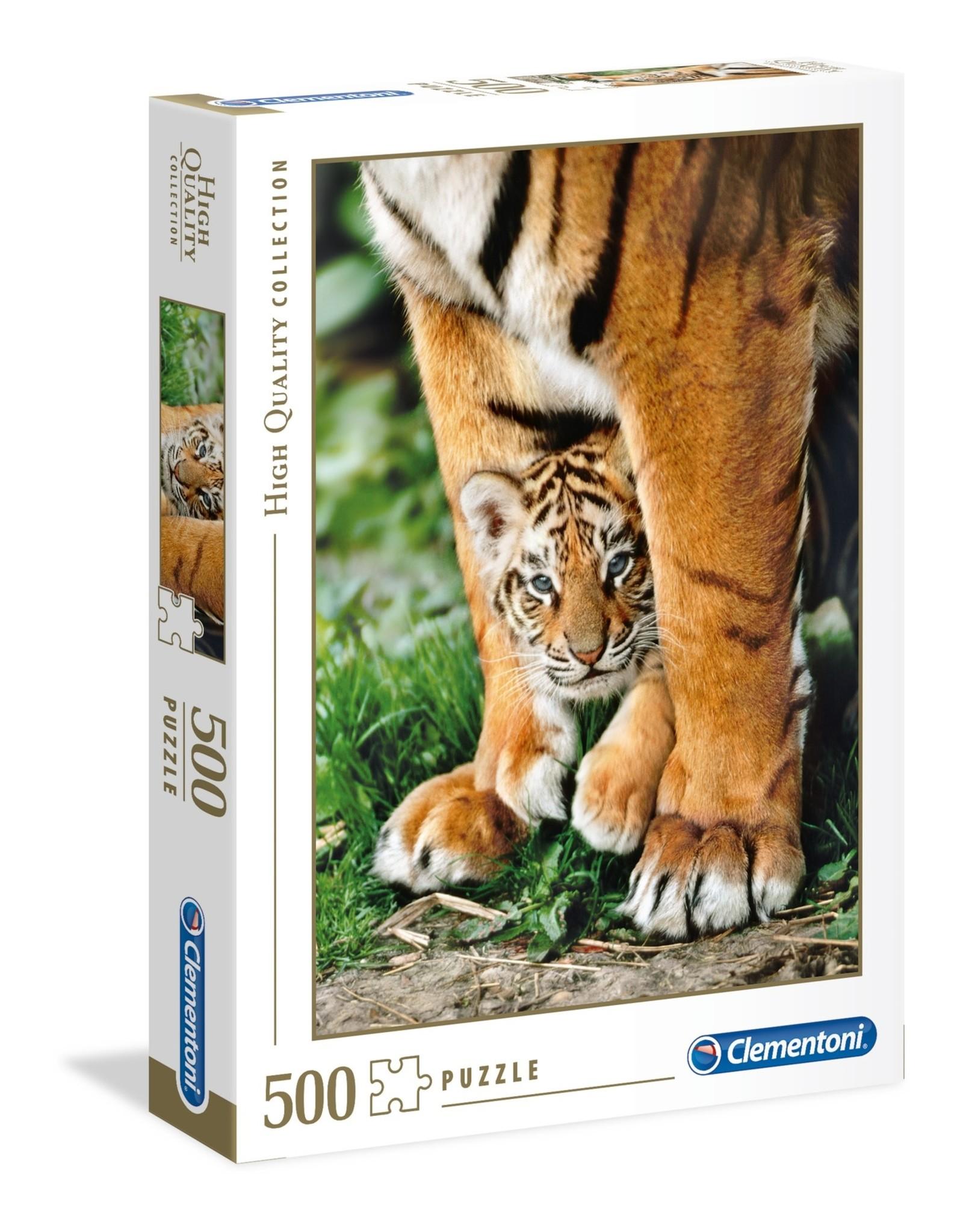 """Clementoni """"Bengal Tiger Cub"""" 500 Piece Puzzle"""