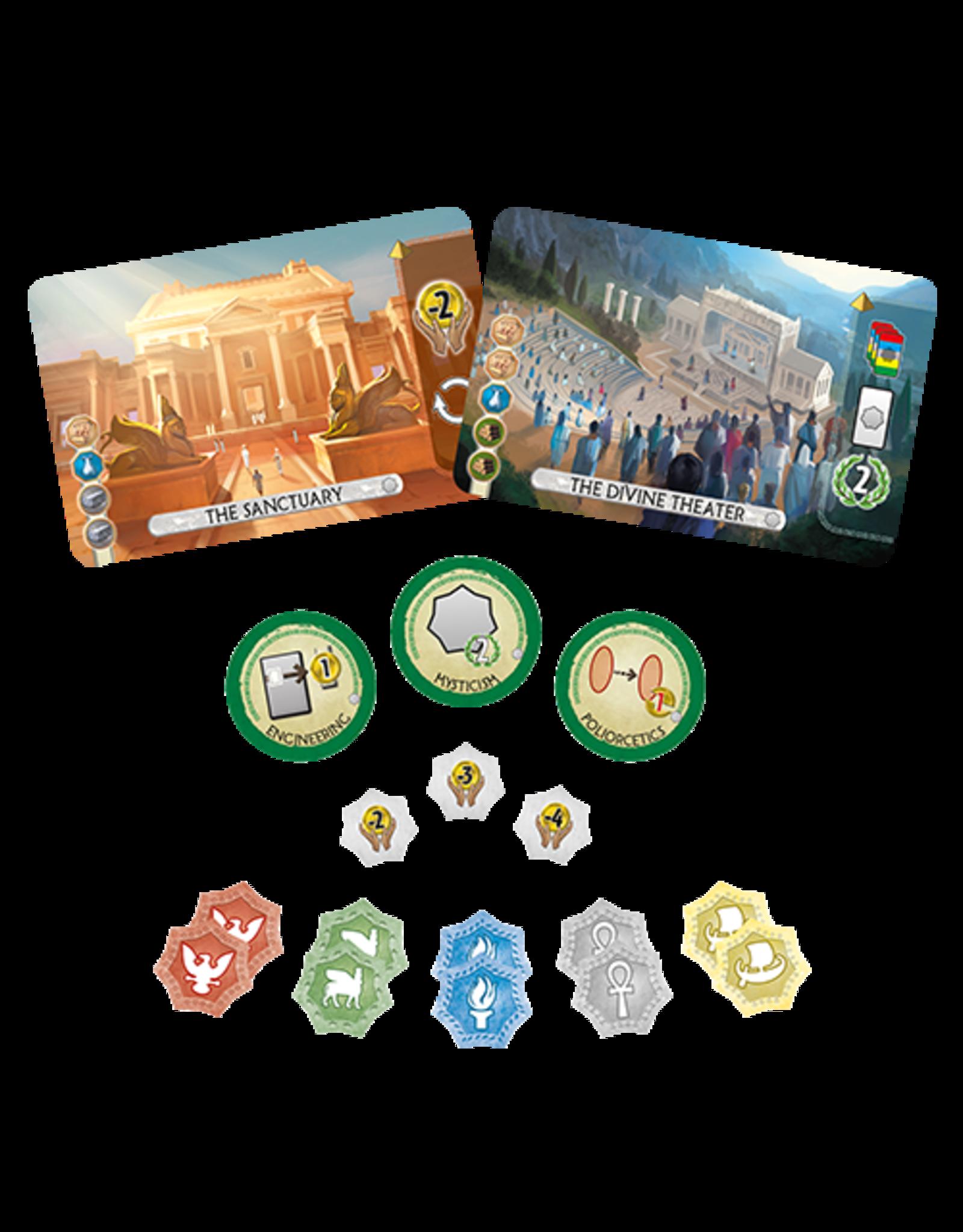 Repos 7 Wonders Duel: Pantheon Expansion