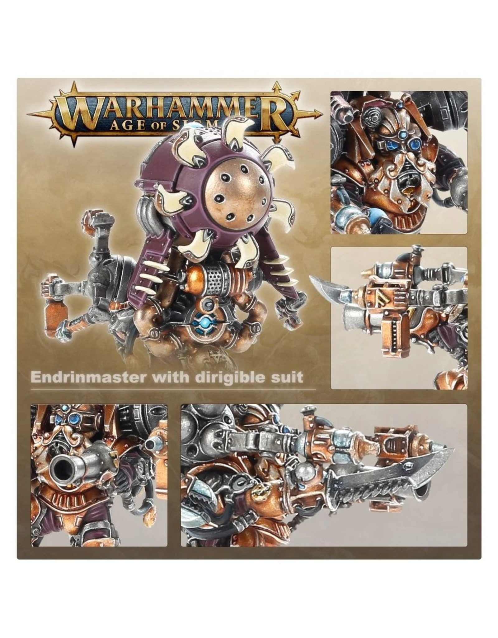 Games Workshop Kharadron Overlords: Endrinmaster with Dirigible Suit