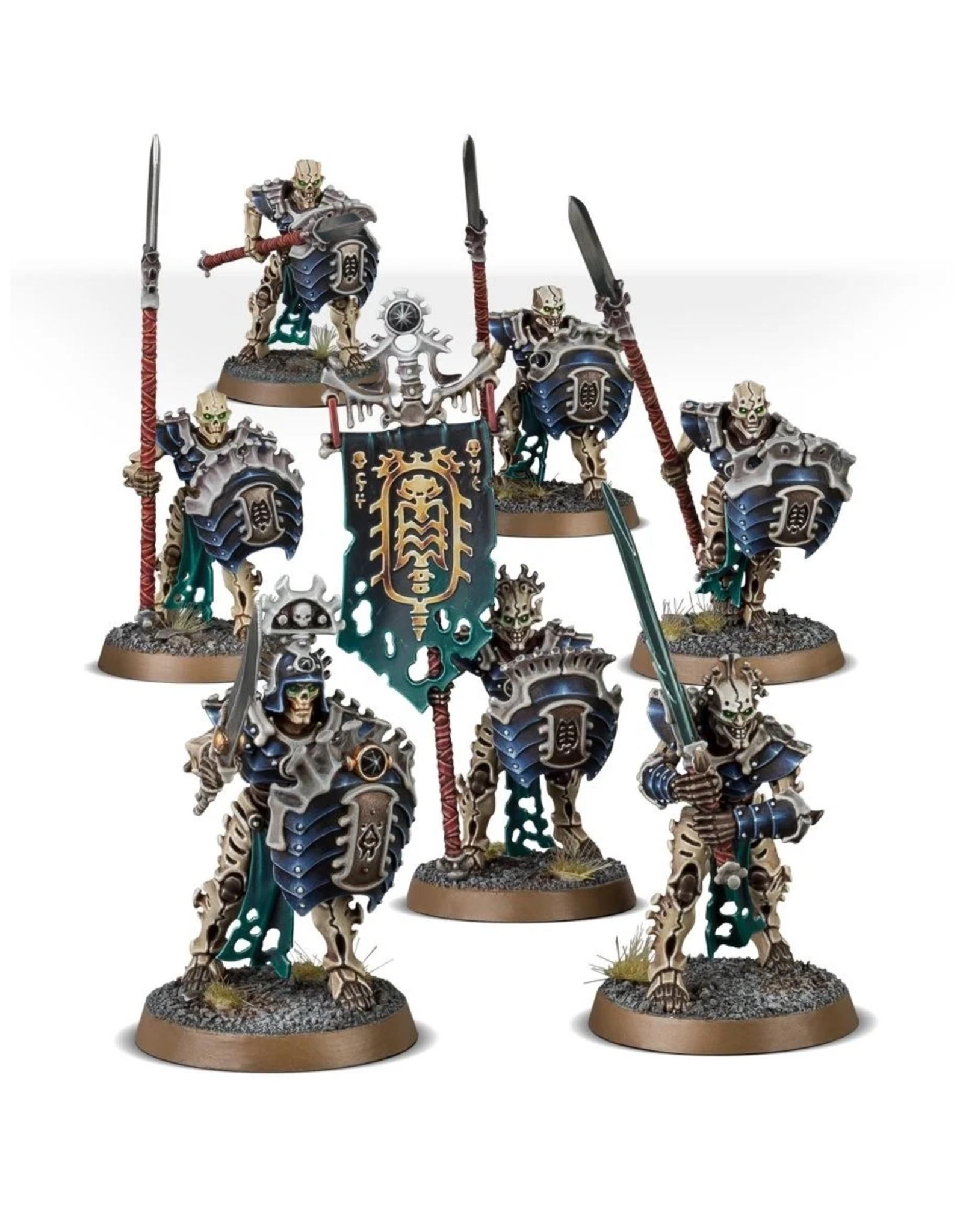 Games Workshop Ossiarch Bonereapers: Mortek Guard